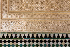 alhambra andalusia granada spain Arkivfoto