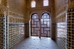 alhambra andalusia granada spain Royaltyfri Bild