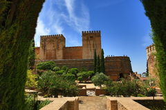 Alhambra , Andalusia, Granada, Spain. Royalty Free Stock Image