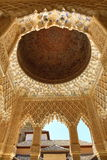 Alhambra Andalusia, Granada, Spanien Royaltyfri Fotografi