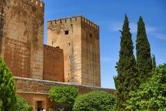Alhambra, Andalusien, Granada, Spanien Lizenzfreie Stockfotos