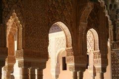 Alhambra arches Stock Photos