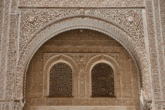 Alhambra arches Royalty Free Stock Photo