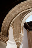 Alhambra arches Royalty Free Stock Images