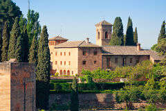 Alhambra architecture Royalty Free Stock Photos
