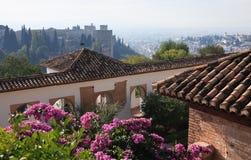 Alhambra Architecture Fotos de archivo