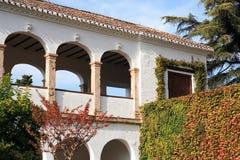 Alhambra Architecture Imagen de archivo libre de regalías