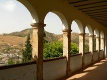 alhambra bågar Royaltyfri Bild