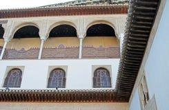 Alhambra-Bögen Stockfoto