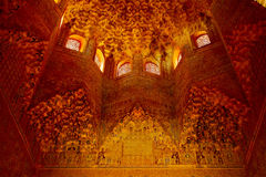 alhambra baldachimu Granada sala Obrazy Royalty Free