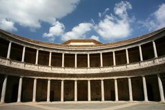 alhambra Carlo Γρανάδα παλάτι Ισπανία β Στοκ φωτογραφίες με δικαίωμα ελεύθερης χρήσης