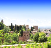 Alhambra Castle, Spain Royalty Free Stock Image