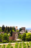 Alhambra Castle, Spain Royalty Free Stock Photography