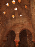 Alhambra catacomben in Granada, Andalusia. Spanje Stock Fotografie