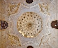 Alhambra Ceiling Royalty Free Stock Photo