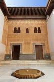 alhambra comares de facade Γρανάδα Στοκ φωτογραφία με δικαίωμα ελεύθερης χρήσης