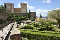 Alhambra Complex, Granada, Spain Royalty Free Stock Images
