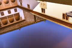 Alhambra Courtyard Myrtles Pool Granada Andalusia Spain Royalty Free Stock Photo