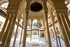 Alhambra de Granada, a Andaluzia, Spain imagem de stock