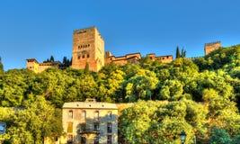 Alhambra de Granada - España Imágenes de archivo libres de regalías