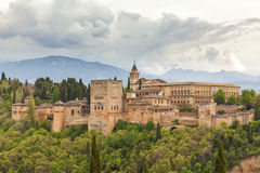 Alhambra de Granada Royalty Free Stock Photography