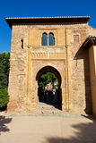 Alhambra de Granada: Puerta del Vino Stock Photography