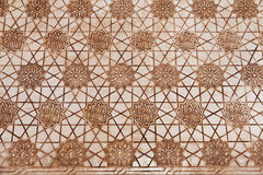Alhambra de Granada: relief detail Royalty Free Stock Images