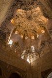 Alhambra de Luifel Granada van de Zaal royalty-vrije stock foto
