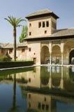Alhambra - de Toren van Dames royalty-vrije stock foto's