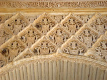 Alhambra detail Royalty Free Stock Photo