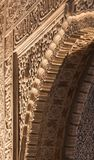 Alhambra detail. Amazing detail in Alhambra, Spain Stock Photography