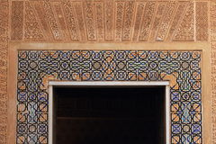 Alhambra detail Royalty Free Stock Photography