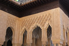 Alhambra detail Royalty Free Stock Images
