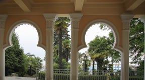 alhambra detaljer Fotografering för Bildbyråer