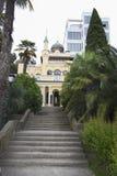 alhambra detaljer Arkivbilder