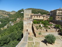 Alhambra em Granada Foto de Stock