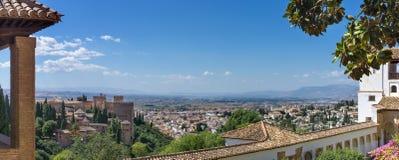 Alhambra em Granada imagens de stock royalty free