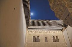 Alhambra em a noite Imagem de Stock