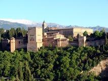 Alhambra en Granada Foto de archivo libre de regalías