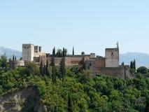 Alhambra en Granada, España Imagen de archivo libre de regalías