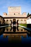 alhambra Europa slott spain Royaltyfri Foto