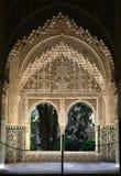 alhambra fönster Royaltyfri Foto