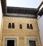 Alhambra Facade of the Palace of Comares Royalty Free Stock Images