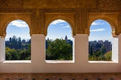 Alhambra-Festung Stockfotografie