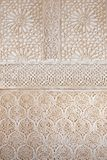 alhambra forntida arkitekturslott spain Arkivfoto