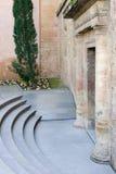 alhambra forntida dörrslott spain Royaltyfria Foton