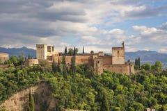Alhambra fort zdjęcia royalty free