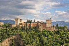 Alhambra Fort Royalty Free Stock Photos