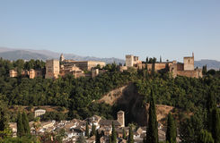 Alhambra fortfress. Granada, Spain Stock Photo
