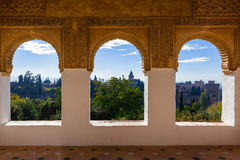 Alhambra fortress Stock Photography